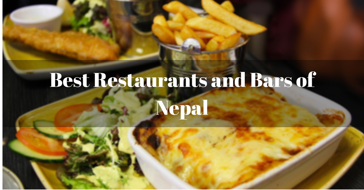 Nepal Best Restaurants Bars